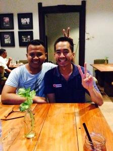 With Kevin Truong, Di sebuah restoran di Kota Tua, Jakarta